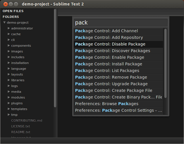 Package Control для Sublime Text 2